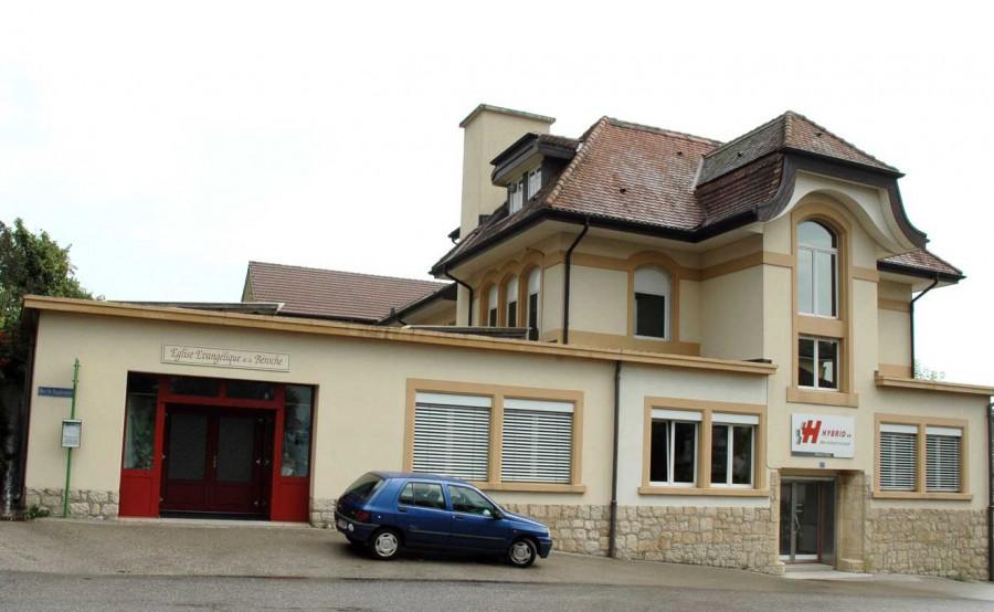 Chez-le-Bart: Eglise évangélique la Béroche